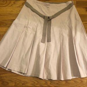 Light pink skirt
